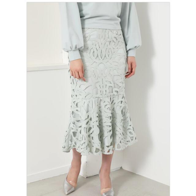 rienda(リエンダ)のLace Mermaid J/W SK レディースのスカート(ロングスカート)の商品写真