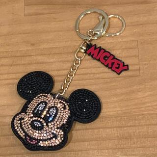 ディズニー(Disney)のディズニー Disney  しまむら ミッキーマウス キーホルダー チャーム(キーホルダー)