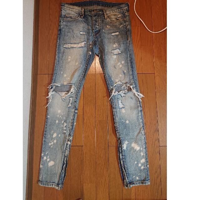 FEAR OF GOD(フィアオブゴッド)のMNML ミニマル デニム ジーンズ インディゴネイビー メンズのパンツ(デニム/ジーンズ)の商品写真