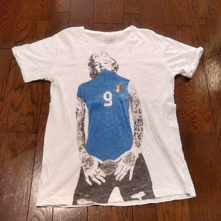 Ron Herman - rudeiscool   マリリンモンロー イタリア代表 Tシャツ