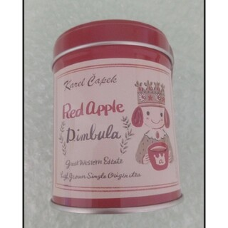 お値下げ品  カレルチャペック 紅茶 ディンブラ缶  アップルティー(茶)
