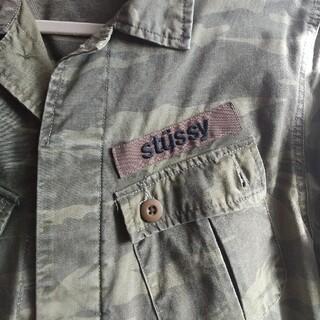 ステューシー(STUSSY)のステューシーのミリタリージャケット(ミリタリージャケット)