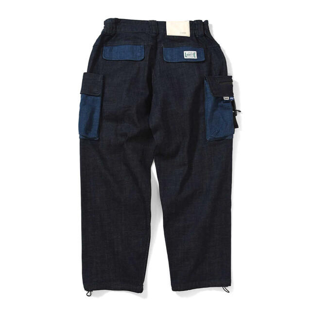 Supreme(シュプリーム)の【未使用】LFYT X LAKH デニムカーゴパンツ  XL メンズのパンツ(デニム/ジーンズ)の商品写真