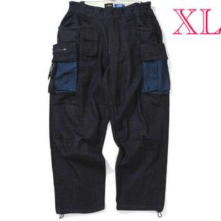【未使用】LFYT X LAKH デニムカーゴパンツ  XL