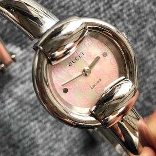 Gucci - 極美品 Gucci グッチ腕時計  バングル  レディース アクセサリー