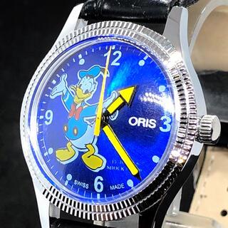 オリス(ORIS)の【訳あり特価】ドナルドダック/Vintage/メンズ腕時計/oris/ディズニー(腕時計(アナログ))
