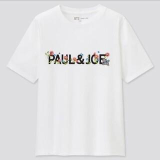 ポールアンドジョー(PAUL & JOE)のユニクロ ポールアンドジョー ロゴ Tシャツ Sサイズ(Tシャツ(半袖/袖なし))