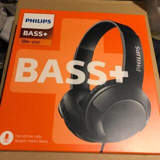 フィリップス(PHILIPS)のPHILIPSフィリップスBass+ SHL3075BKヘッドホン マイク付×3(ヘッドフォン/イヤフォン)