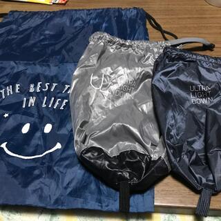 ユニクロ(UNIQLO)のウルトラライトダウン袋2枚とシューズケース(その他)