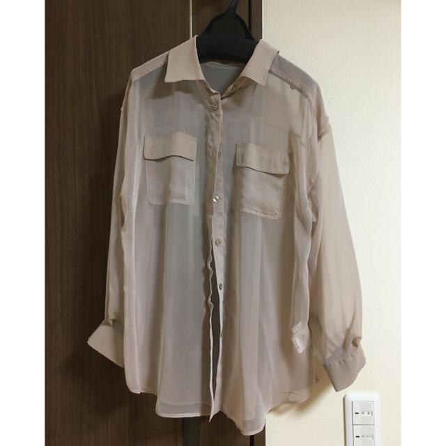 Mystrada(マイストラーダ)のマイストラーダ シースルーシャツ ブラウス レディースのトップス(シャツ/ブラウス(長袖/七分))の商品写真