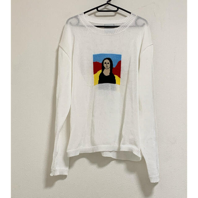 ALLEGE(アレッジ)のkota gushiken Monna Lisa モナリザニット size2  メンズのトップス(ニット/セーター)の商品写真