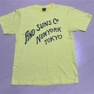 アンドサンズ(ANDSUNS)の【試着のみ】美品 Tシャツ ANDSUNS  レアT デビル(Tシャツ/カットソー(半袖/袖なし))