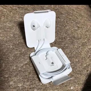 アップル(Apple)のiPhone ライトニングイヤホン 純正品(ヘッドフォン/イヤフォン)