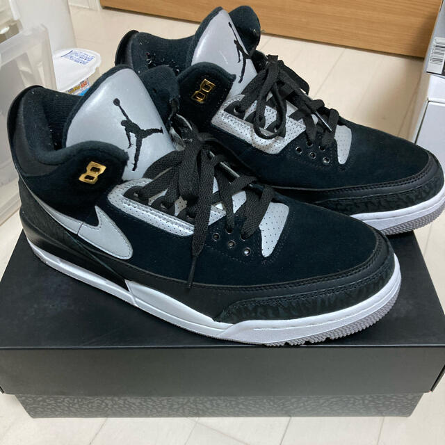 NIKE(ナイキ)のNIKE Air Jordan 3 Retro Tinker Black メンズの靴/シューズ(スニーカー)の商品写真