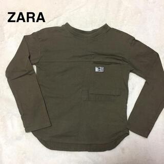 ザラキッズ(ZARA KIDS)のZARA kids薄手ロンT美品110(Tシャツ/カットソー)
