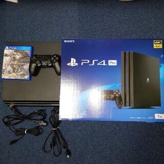 PlayStation4 - PlayStation®4 Pro ジェットブラック@おまけ