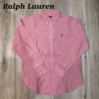 デニムアンドサプライラルフローレン(Denim & Supply Ralph Lauren)の《S》Ralph Lauren ギンガムチェックシャツ(Tシャツ/カットソー(半袖/袖なし))
