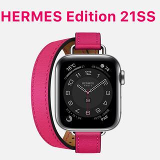 Apple Watch - Apple Watch6 HERMES アトラージュ ドゥブルトゥール 40mm