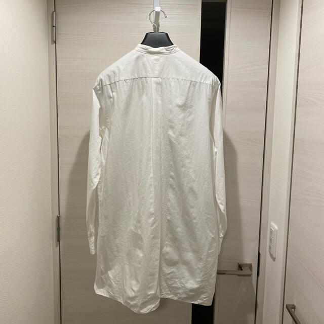 COMOLI(コモリ)のCOMOLI コモリ バンドカラーシャツ コモリシャツ ホワイト 1 メンズのトップス(シャツ)の商品写真
