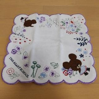 くまのがっこう - 【新品*未使用】THE BEAR'S SCHOOL 刺繍 タオルハンカチ