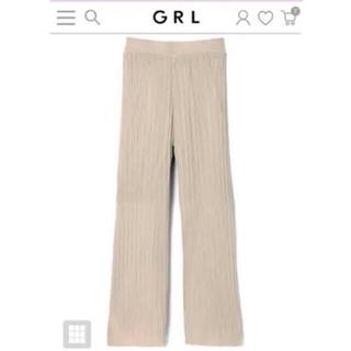 GRL - グレイル 透かし編みニットパンツ Mサイズ