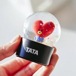 BT21 TATA テヒョン ミニウォーターボール スノードーム BTS 公式(アイドルグッズ)