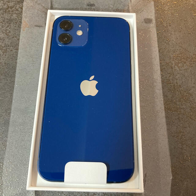 iPhone(アイフォーン)のiPhone12 128GB  Blue スマホ/家電/カメラのスマートフォン/携帯電話(スマートフォン本体)の商品写真
