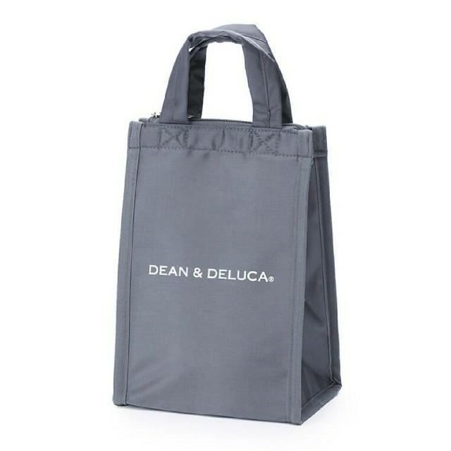 DEAN & DELUCA(ディーンアンドデルーカ)のDEAN & DELUCA クーラーバッグ グレー S 新品 正規品 レディースのバッグ(エコバッグ)の商品写真