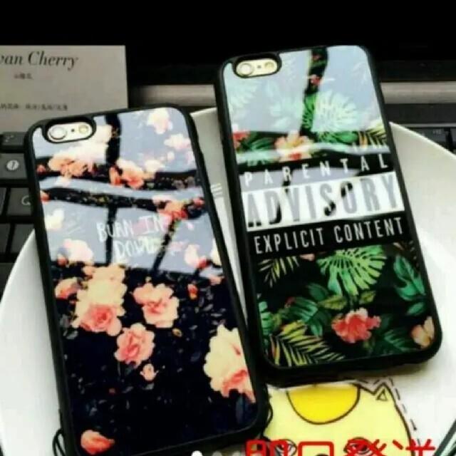 送料無料 iPhoneケース ボタニカ 緑 440円  プレセント 人気 845 スマホ/家電/カメラのスマホアクセサリー(iPhoneケース)の商品写真