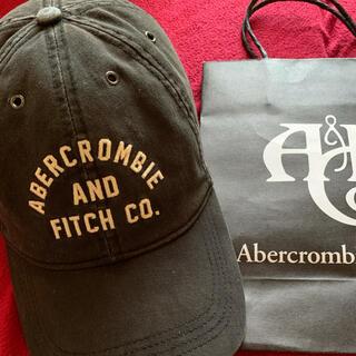 Abercrombie&Fitch - アバクロキャップ【人気BLACK.最終価格】
