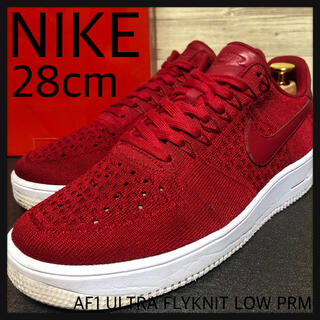 ナイキ(NIKE)の中古28cm NIKE AIR FORCE1 ULTRA FLYKNIT PRM(スニーカー)