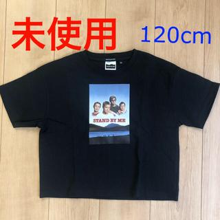 フリークスストア(FREAK'S STORE)の【未使用】フリークスストア 半袖Tシャツ 黒 120 スタンドバイミー(Tシャツ/カットソー)