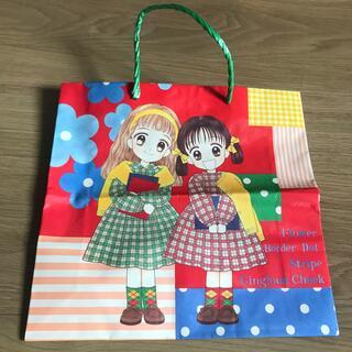 りぼん 付録 H5年9月 新学期特大号付録 紙バッグ(コミック用品)