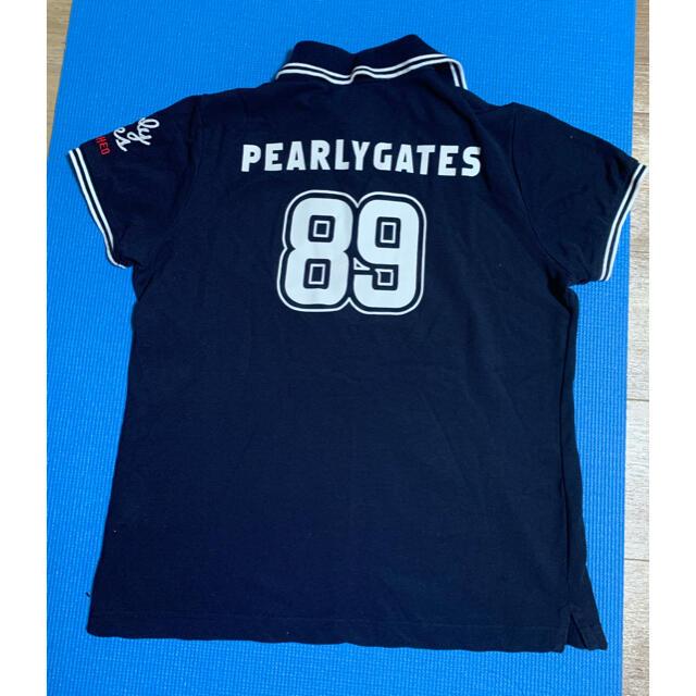 PEARLY GATES(パーリーゲイツ)のパーリーゲイツ レディースポロシャツ スポーツ/アウトドアのゴルフ(ウエア)の商品写真