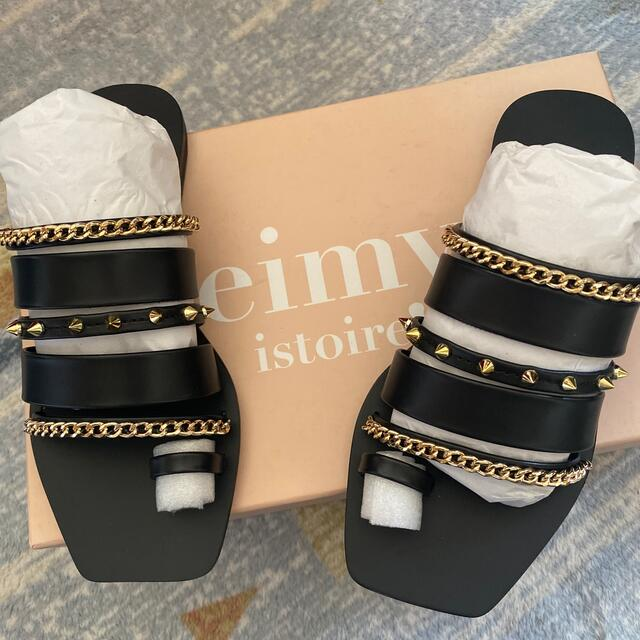 eimy istoire(エイミーイストワール)のま様専用 レディースの靴/シューズ(サンダル)の商品写真