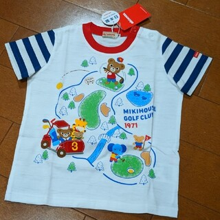 mikihouse - 【新品】半袖Tシャツ MIKIHOUSE ミキハウス プッチー 豪華Tシャツ