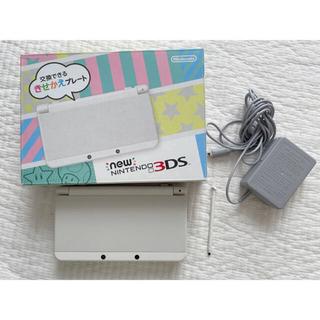 ニンテンドー3DS - Nintendo 3DS NEW ニンテンドー 本体 ホワイト ACアダプター付