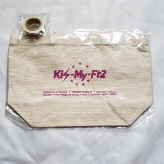 キスマイフットツー(Kis-My-Ft2)のキスマイ⭐バック+マスキングテープ⭐ちょ様(アイドルグッズ)