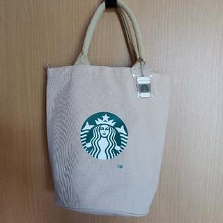 スターバックスコーヒー(Starbucks Coffee)の新品 スターバックスコーヒー トートバッグ (ベージュ)(トートバッグ)