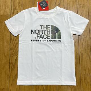 THE NORTH FACE - 新品未使用❗️ノースフェイス カモロゴ Tシャツ 130