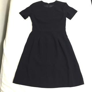 ニッセン(ニッセン)の黒フォーマル テーラードアンサンブル(礼服/喪服)