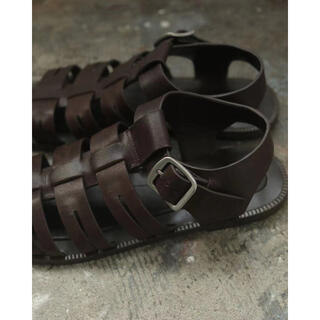 TODAYFUL - 完売 Todayful Leather Belt Sandals ブラウン