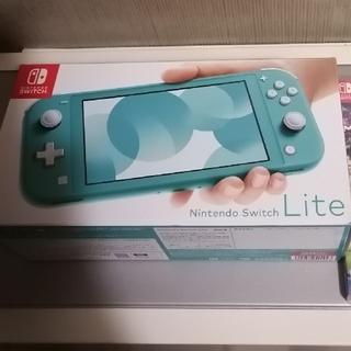 ニンテンドースイッチ(Nintendo Switch)の【新品未開封】Nintendo Switch Lite ターコイズ(携帯用ゲーム機本体)