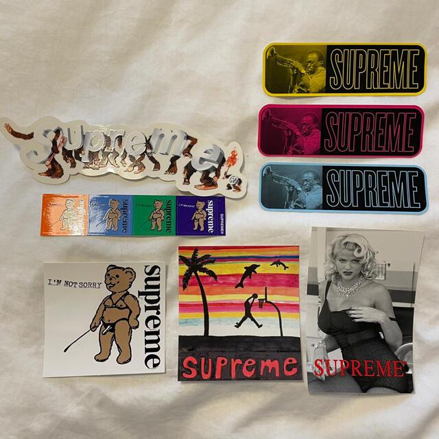 Supreme(シュプリーム)のSupreme ステッカー 8枚 新品 送料無料 Sticker Set メンズのファッション小物(その他)の商品写真