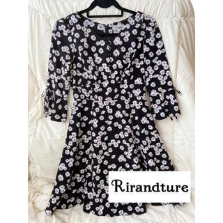 Rirandture - リランドチュール 花柄ワンピース Sサイズ