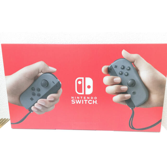 Nintendo Switch(ニンテンドースイッチ)のNintendo Switch スイッチ 本体 グレー 新品 エンタメ/ホビーのゲームソフト/ゲーム機本体(家庭用ゲーム機本体)の商品写真