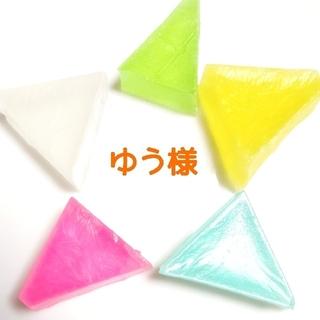 ゆう様  ①わり氷3個  ②金沢ゆずわり氷2個 (菓子/デザート)