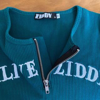 ジディー(ZIDDY)の150サイズ 女の子 グリーン 長袖カットソー(Tシャツ/カットソー)