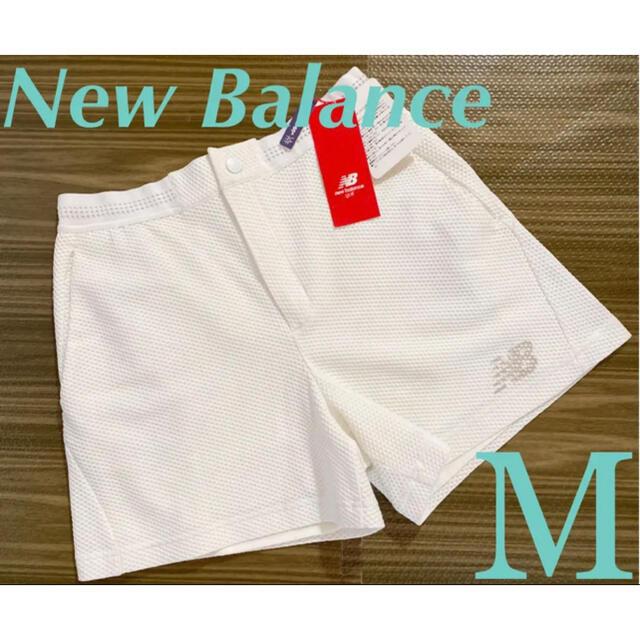 New Balance(ニューバランス)のNewBalance ラッセルベアメッシュ キュロットパンツ M スポーツ/アウトドアのゴルフ(ウエア)の商品写真