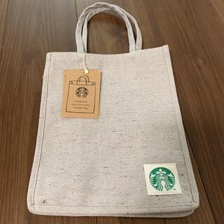 Starbucks Coffee - スターバックス ショッパーバッグデニムベージュS